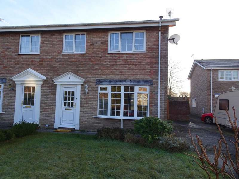 3 Bedrooms Semi Detached House for sale in GEORGIAN CLOSE, PORTHCAWL, CF36 5NB