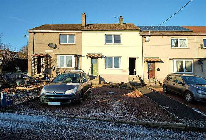 2 Bedrooms Terraced House for sale in 2 Queens Row, Greenlaw, TD10 6XL