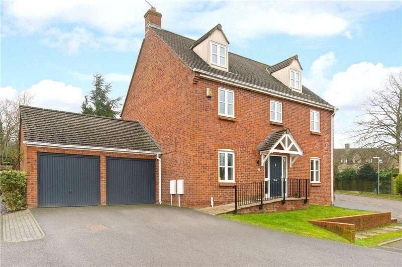 5 Bedrooms Detached House for sale in Spring Close, Brackley, Northamptonshire