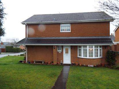 4 Bedrooms Detached House for sale in Andrew Close, Stoke Golding, Nuneaton, Warwickshire