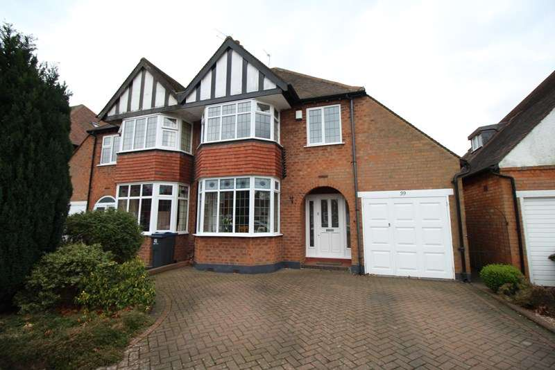 3 Bedrooms Semi Detached House for sale in Ferndale Road, Hall Green, Birmingham