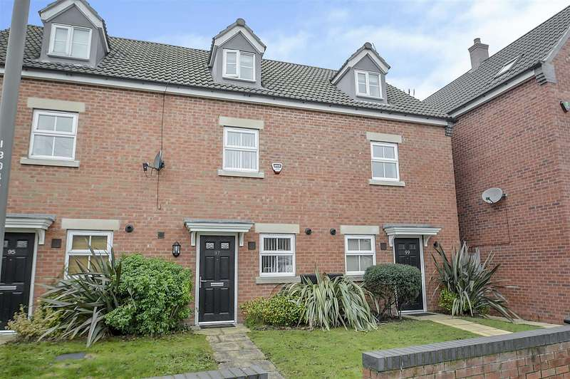 3 Bedrooms Terraced House for sale in Hawthorne Avenue, Long Eaton