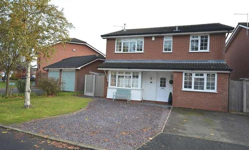 4 Bedrooms House for sale in Leyland Grove, Haslington, Crewe
