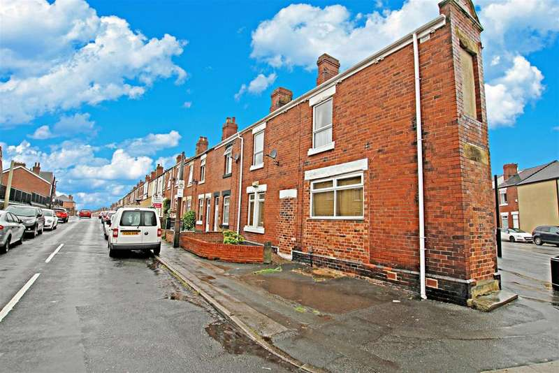 2 Bedrooms End Of Terrace House for sale in Kilnhurst Road, Rotherham