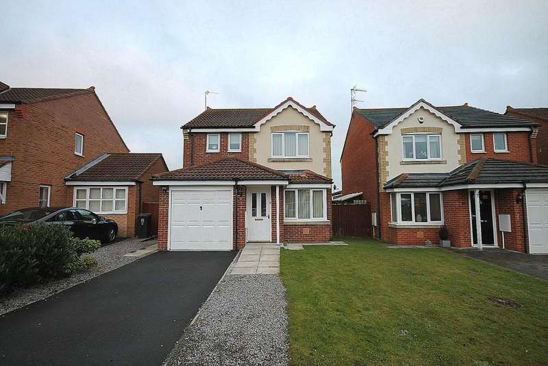 3 Bedrooms Detached House for sale in Armstrong Drive, Willington, Crook