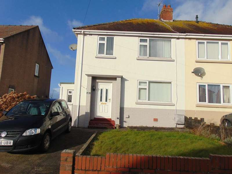 3 Bedrooms Semi Detached House for sale in Bryneithin, Burry Port