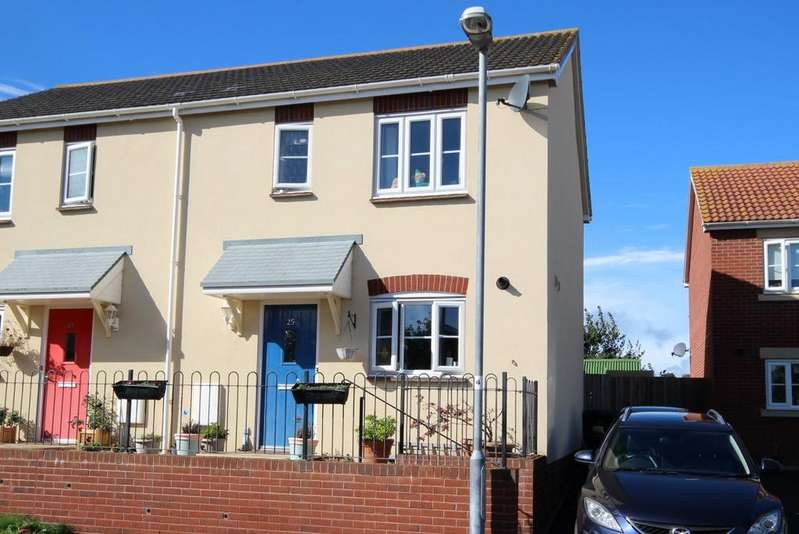 3 Bedrooms Semi Detached House for sale in Churchill Way, Watchet TA23