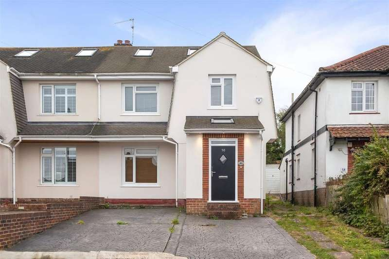 4 Bedrooms Semi Detached House for sale in Graham Avenue, Patcham, Brighton