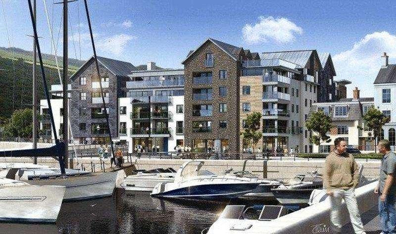 1 Bedroom Apartment Flat for sale in 21 Quay West Apartments, Bridge Road, Douglas