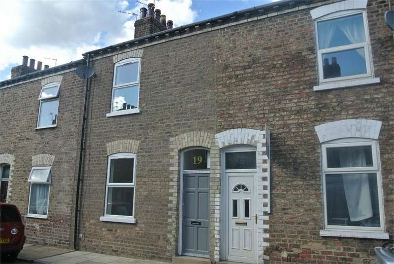 2 Bedrooms Terraced House for rent in Frances Street, York