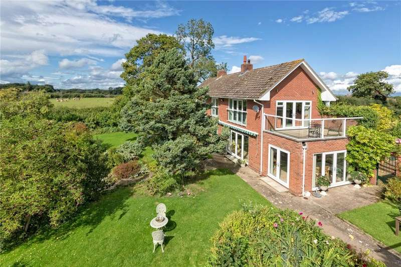 4 Bedrooms Detached House for sale in Walford Heath, Shrewsbury