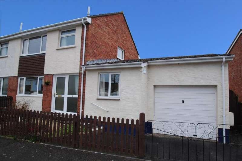 3 Bedrooms Semi Detached House for sale in Bickington Lodge Estate, Bickington
