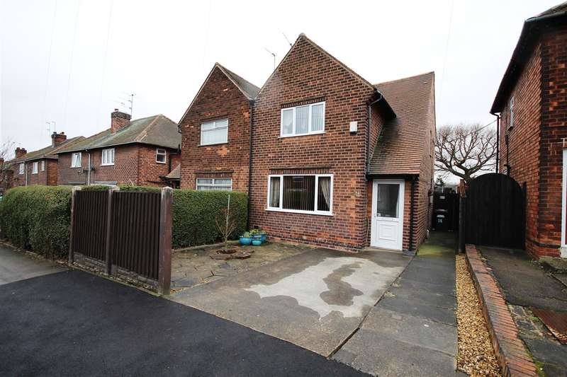 2 Bedrooms Semi Detached House for sale in Kingston Avenue, Ilkeston