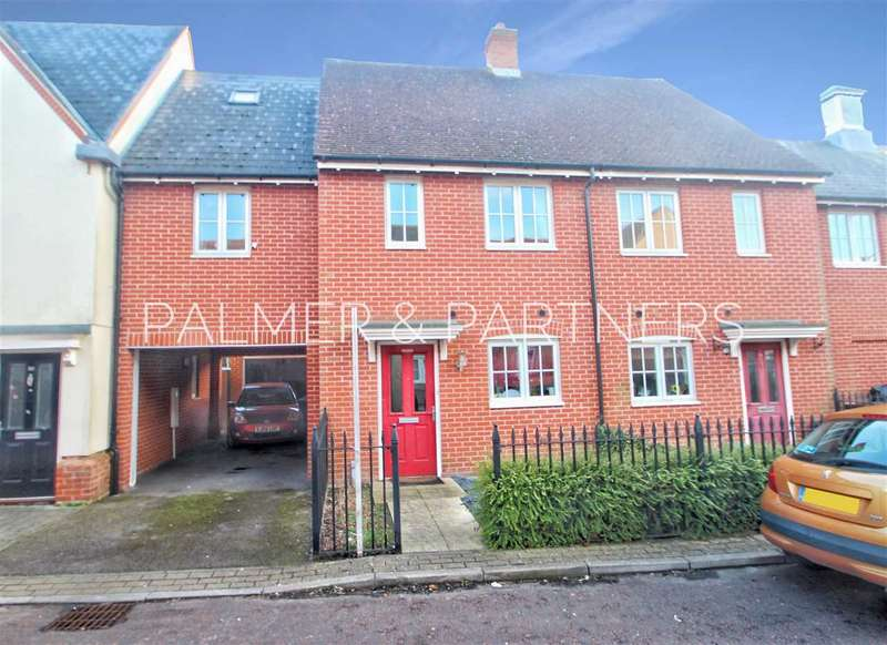 2 Bedrooms Terraced House for sale in Rose Allen Avenue, Colchester