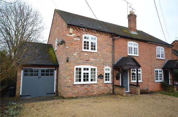 4 Bedrooms Semi Detached House for sale in Budges Cottages, Keephatch Road, Wokingham