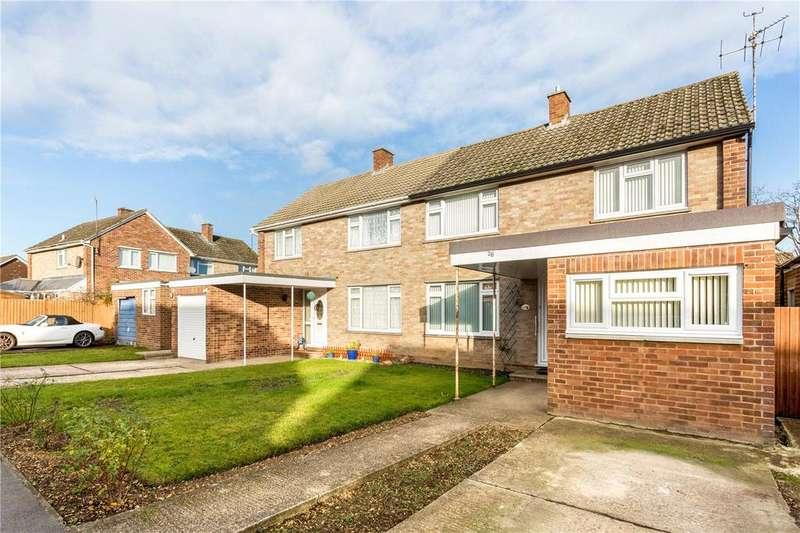 3 Bedrooms Semi Detached House for sale in Kersey Crescent, Speen, Newbury, Berkshire, RG14