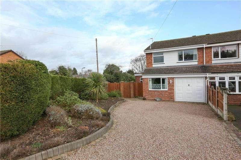 3 Bedrooms Semi Detached House for sale in Dovecote Road, Bromsgrove, B61