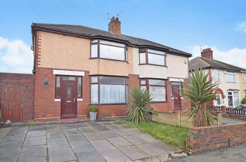 3 Bedrooms Semi Detached House for sale in Latham Avenue, Runcorn