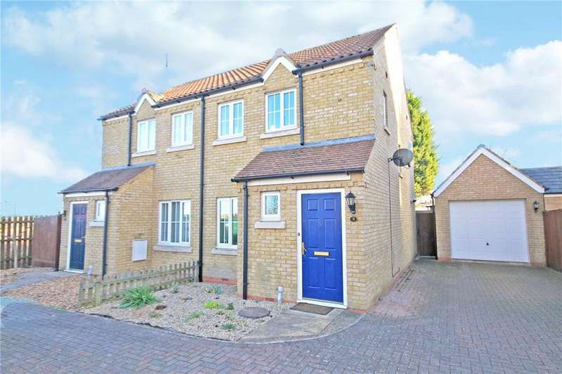 2 Bedrooms Semi Detached House for sale in Braybrooke Place, Cherry Hinton, Cambridge, CB1