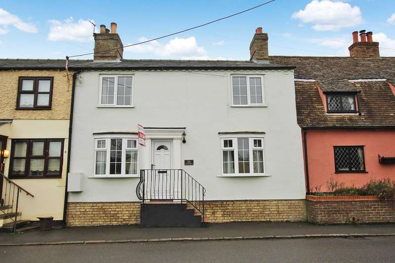3 Bedrooms Terraced House for sale in High Street, WRESTLINGWORTH, Sandy, SG19