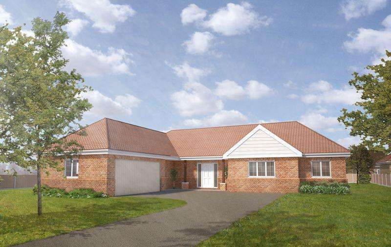 3 Bedrooms Detached Bungalow for sale in Plot 7, The Hawthorn, Tower Drive, Woodhall Spa **Under Offer**