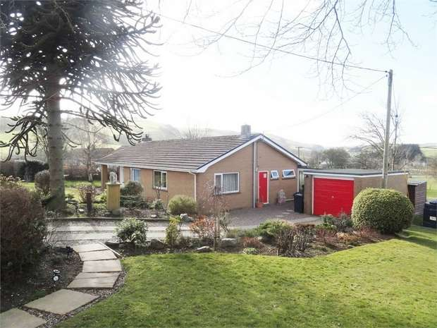 3 Bedrooms Detached Bungalow for sale in Dolfor, Newtown, Powys