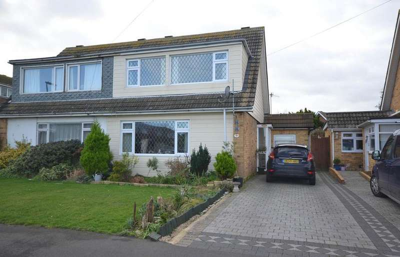 3 Bedrooms Semi Detached House for sale in Merryfield Drive, Selsey, PO20