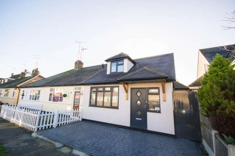 3 Bedrooms Chalet House for sale in Alpha Road, Hutton, Brentwood, Essex, CM13