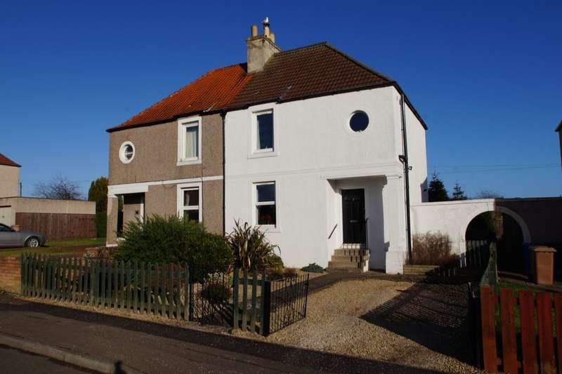 2 Bedrooms Semi Detached House for sale in Queens Avenue, Methilhill, Leven, KY8