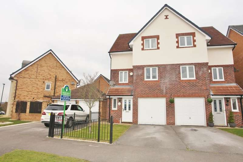 3 Bedrooms Semi Detached House for sale in Leewood Close, Brampton Bierlow, Rotherham, S63