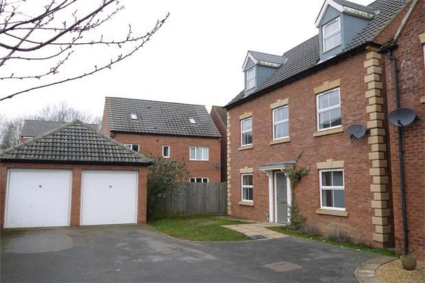 6 Bedrooms Detached House for sale in Vislok Close, Market Harborough, Leicestershire