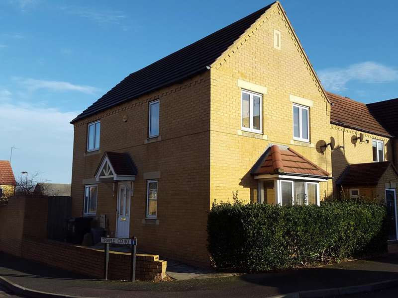 3 Bedrooms Town House for sale in Temple Court, Higham Ferrers NN10