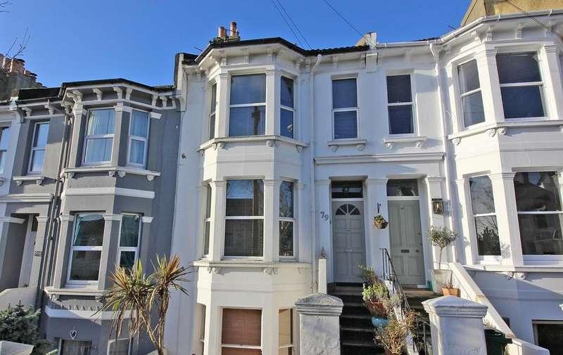 2 Bedrooms Maisonette Flat for sale in Havelock, Brighton BN1