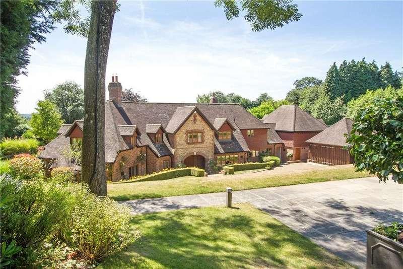 5 Bedrooms Detached House for sale in Sebastopol Lane, Sandhills, Godalming, Surrey, GU8