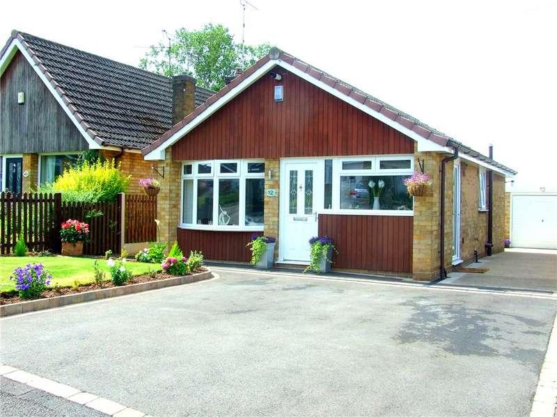 2 Bedrooms Detached Bungalow for sale in Calder Close, Allestree, Derby, Derbyshire, DE22