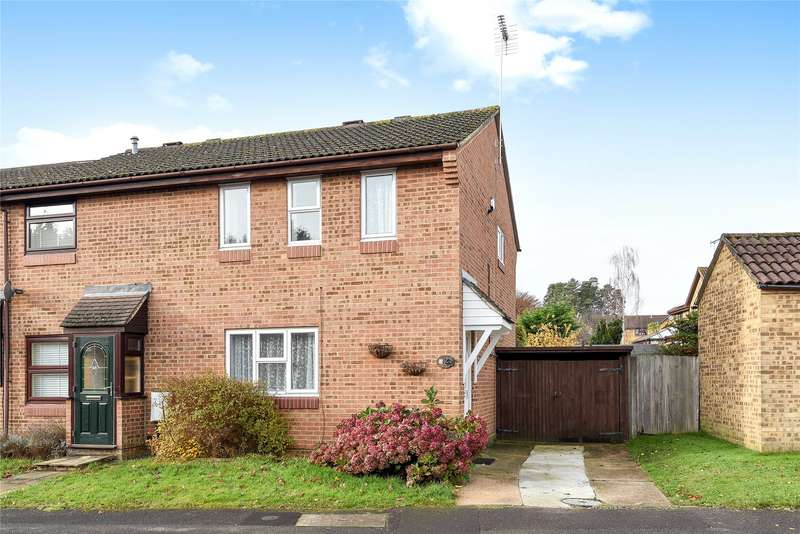 3 Bedrooms End Of Terrace House for sale in Burnmoor Chase, Bracknell, Berkshire, RG12