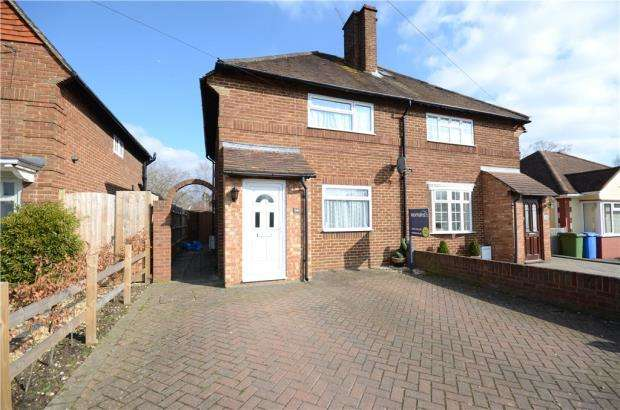 3 Bedrooms Semi Detached House for sale in Minley Road, Farnborough, Hampshire