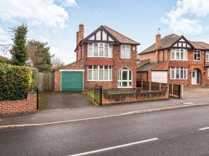 3 Bedrooms Detached House for sale in Main Road, Wilford, Nottingham, Nottinghamshire