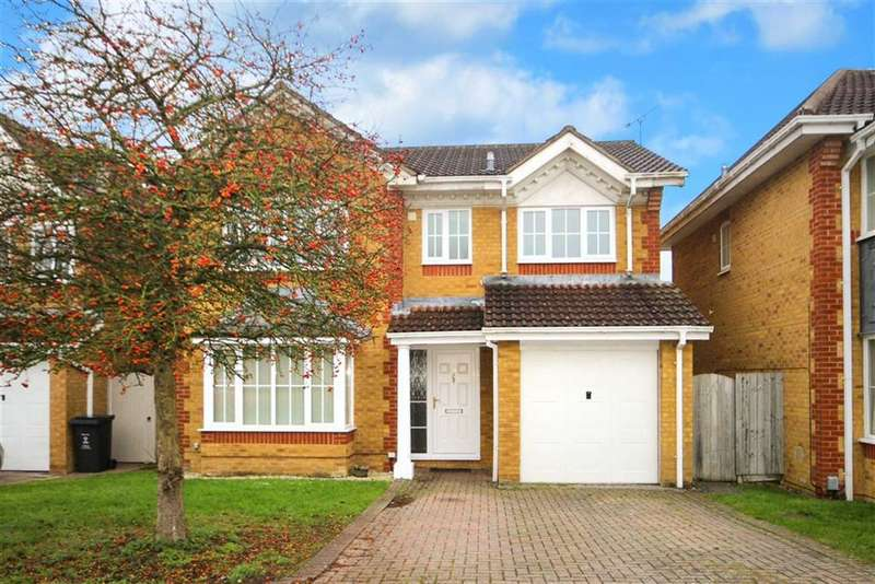 4 Bedrooms Detached House for sale in Clayhill Copse, Peatmoor, Swindon
