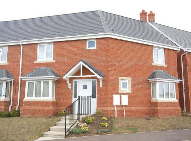 3 Bedrooms Semi Detached House for sale in Ironwood Avenue, Desborough
