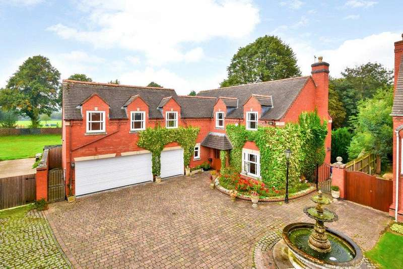 5 Bedrooms Detached House for sale in Blaby, Leicester, Leicestershire