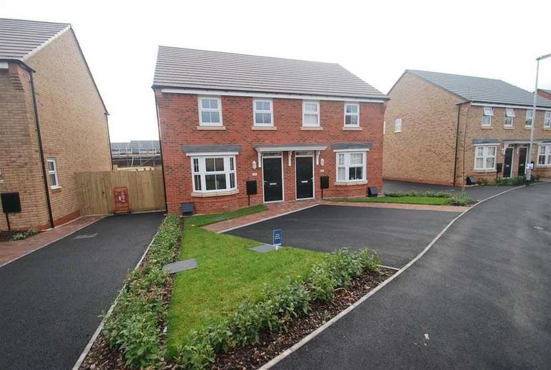 3 Bedrooms House for rent in Dewsbury Crescent, Stafford, ST18 0YW