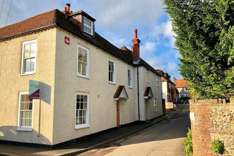 4 Bedrooms Semi Detached House for sale in Walnut Tree Cottages, Vicarage Lane, Hambledon, PO7