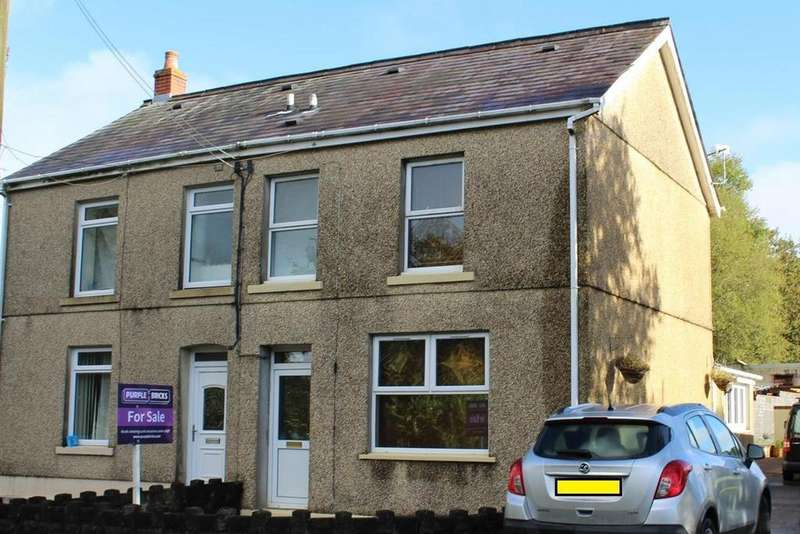 3 Bedrooms Semi Detached House for sale in Black Lion Road, Cross Hands, Llanelli