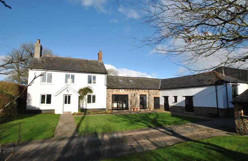 6 Bedrooms Detached House for sale in Pyworthy, Holsworthy