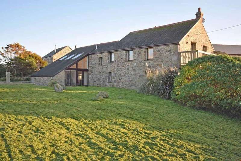 3 Bedrooms Detached House for sale in Cape Cornwall, Nr. St Just, TR19
