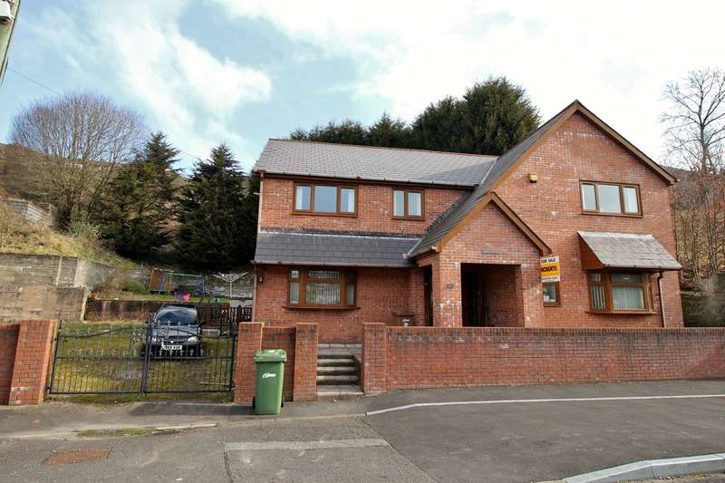 4 Bedrooms Detached House for sale in Queens Road, Elliots Town, New Tredegar, NP24