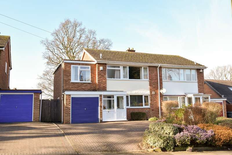 4 Bedrooms Semi Detached House for sale in Woodlands Park Road, Kings Norton, Birmingham, B30