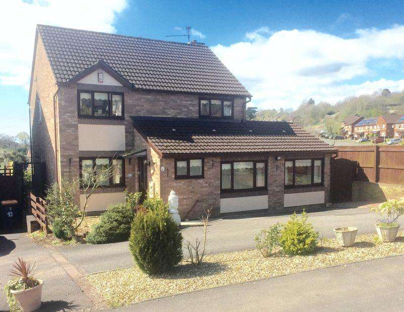 4 Bedrooms Detached House for sale in Kier Hardie Crescent, Newport