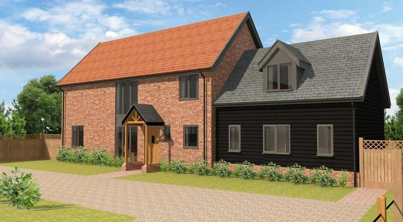 3 Bedrooms Detached House for sale in Swan Lane, Westerfield, Ipswich, Suffolk, IP6 9AX